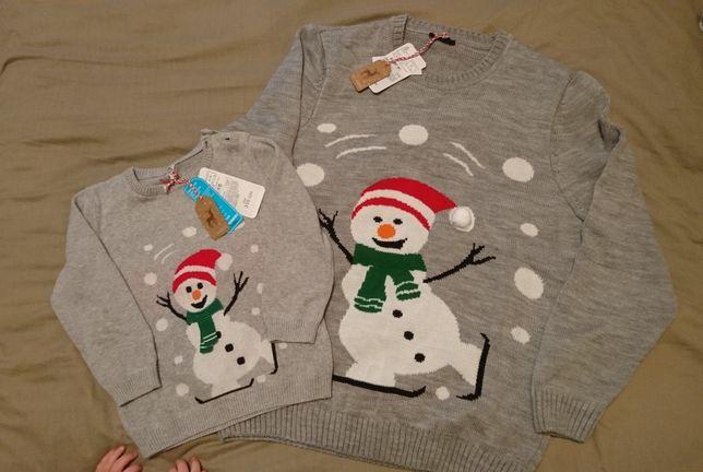 Family look ,новогодний свитер LC Waikiki фемели лук