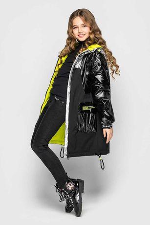 Пальто Cvetkov 128, 134, 140, 146, 158 деми Наоми куртка парка плащ