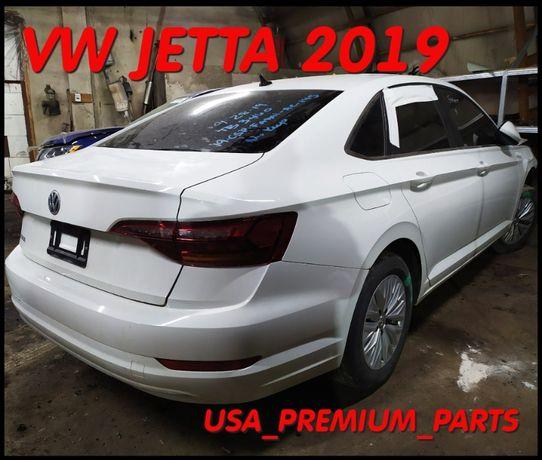 Четверть Усилитель Задний бампер Багажник VW Jetta 2019 Джета USA.