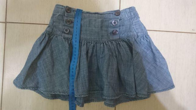 Джинсовая юбка для девочки (4-6 лет)