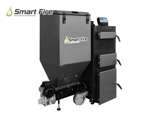 Piec Nadmuchowy Warsztatowy SMARTFIRE moc 25 kW z palnikiem automat