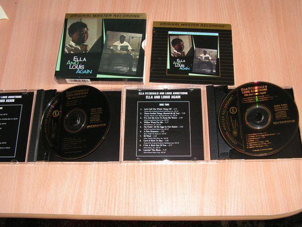 Ella Fitzgerald & Louis Armstrong - Again MFSL UDCD 2-651 box GOLD