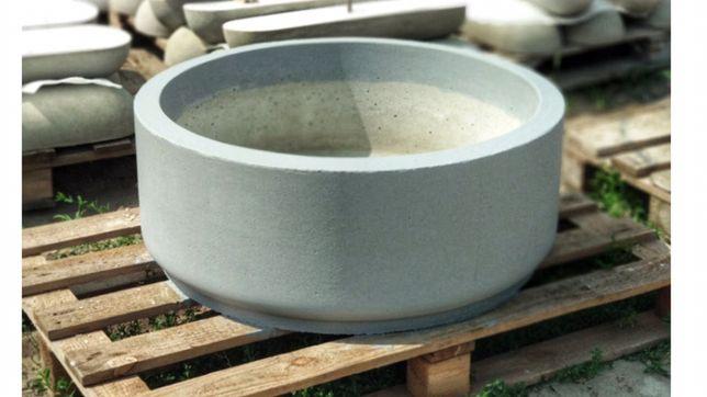 клумба бетонная для дерева