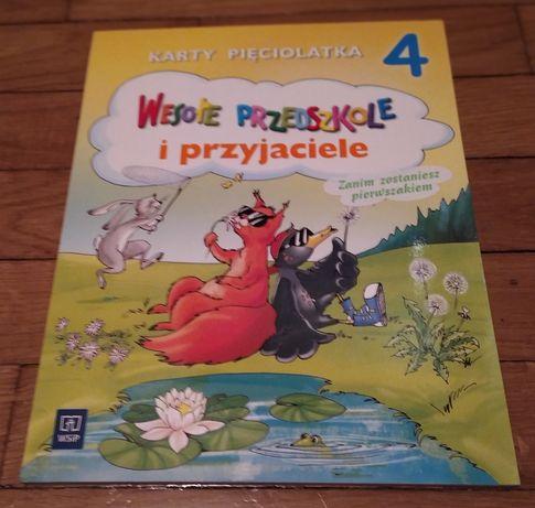 Wesołe przedszkole i przyjaciele karty pięciolatka część 4