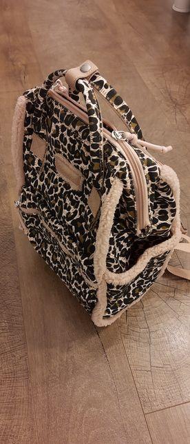 Uroczy plecaczek w panterkę