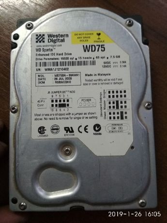 Hdd 3.5 IDE WD