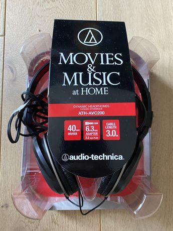 Słuchawki Audio-Technica ATH-AVC200 - stan idealny
