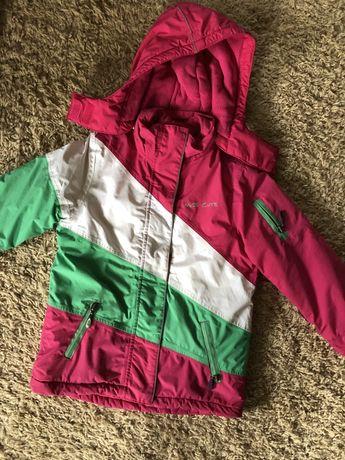 Зимова лижна куртка на дівчинку