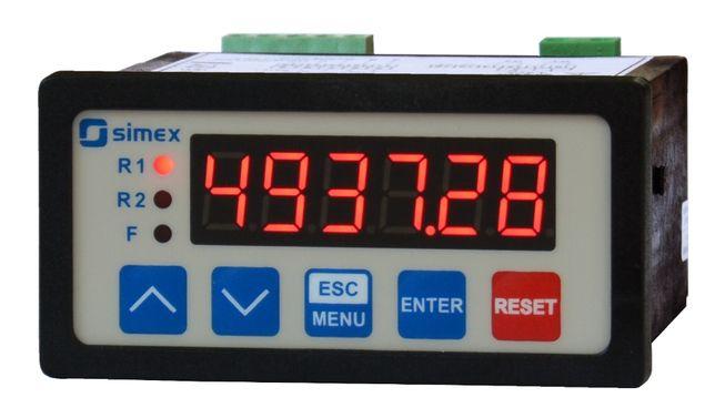 Licznik z funkcją dozowania SIMEX SLIK-73 RS485 - NOWY