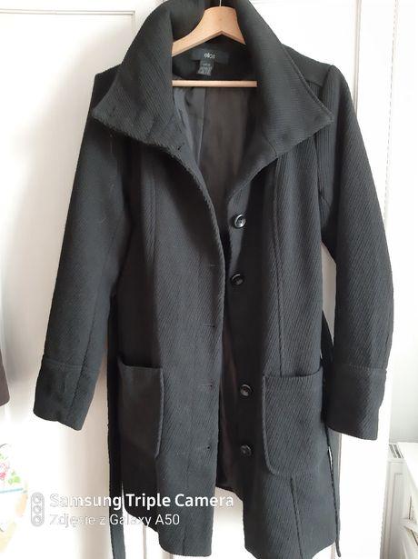 Czarny płaszcz Ellos roz.40 L