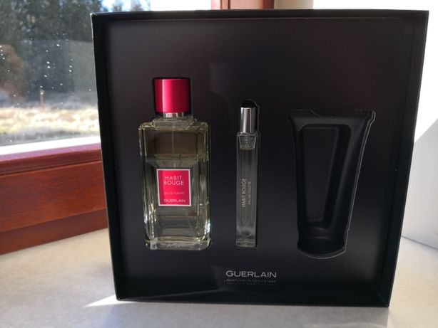 Nowe, oryginalne perfumy męskie Guerlain Habit Rouge EdT 100 ml