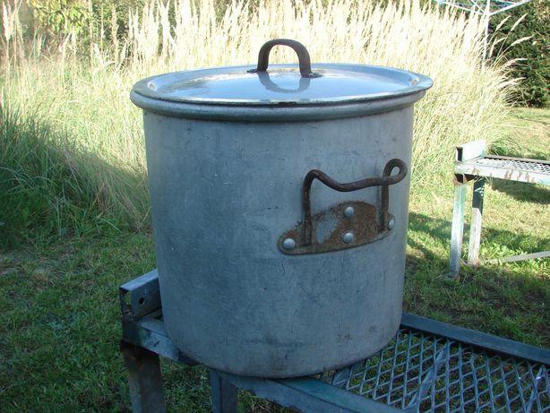 Z wojskowej kuchni gar garnek kocioł ALU 50 litrów z PRL-u OFNE