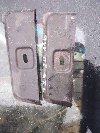 Toyota avensis t25 osłona pasa przedniego plastyk na akumulator