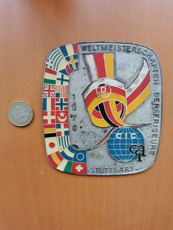 Medalha do Encontro Internacional de Cabeleireiros em Stuttgart 1970