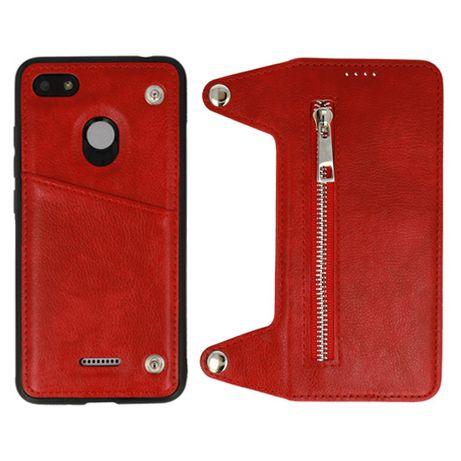 Etui Telone - Business ZIP Xiaomi Pocophone F1 Czerwony