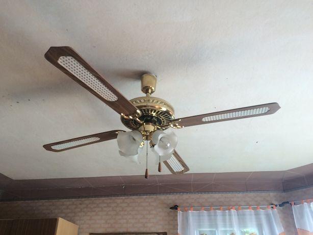 Żyrandole z wiatrakami idealne na gorące dni! Dwa rodzaje