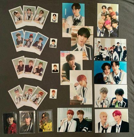 Kpop ateez atiny 2nd kit polaroid karta set mingi yeosang jongho yunho