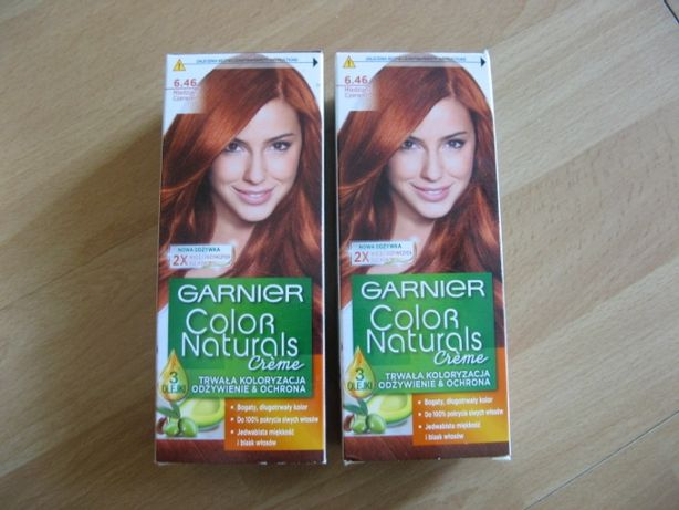 GARNIER Farba 6.46 Miedziana Czerwień Color Naturals