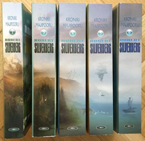 Robert Silverberg - Kroniki Majipooru Zestaw 5 Tomów UNIKAT