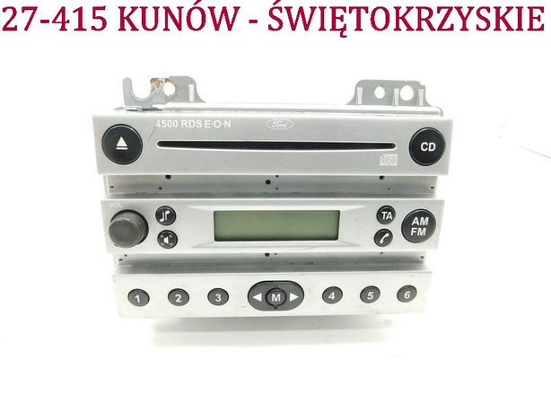 Radio CD Ford Fiesta MK5 MK6 fabryczne V VI 4500 4S61-18C815-AA