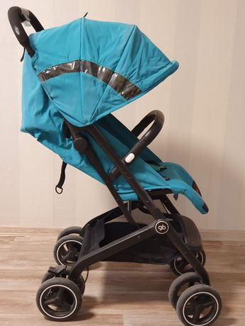 Прогулочная коляска GB Qbit+ All-Terrain B Laguna Blue  Суперлегкая