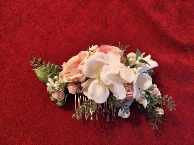 Wianek + grzebyk ślub wesele