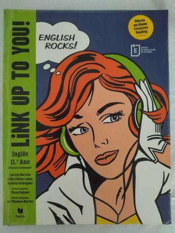 Inglês 11ºano - Manual Link Up To You! 11º