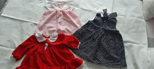 Sukieneczki dla dziewczynki.