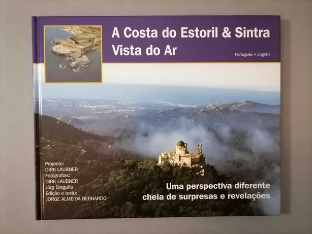 A Costa do Estoril e Sintra vista do ar