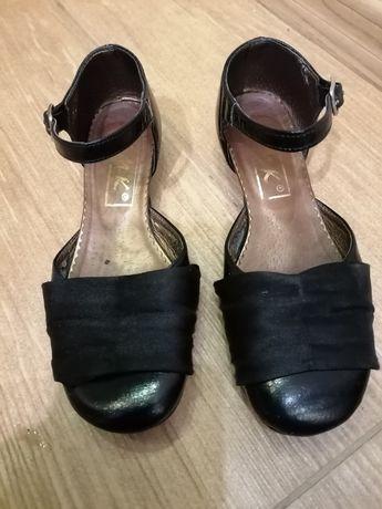 Czarne buty dziewczęce rozm.33