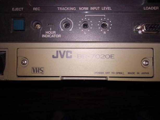 Видеомагнитофон JVC двухкассетный на запчасти Япония
