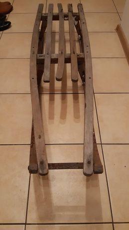 Sanki drewniane 122cm