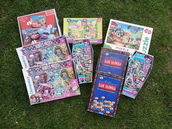 Puzzle, gry i płyty dla dziecka