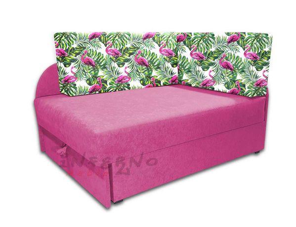 Narożnik dla dziecka KUBUŚ, sofa rozkładana, łóżko dziecięce