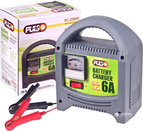 Зарядное устройство Pulso (6,8,12 А) зарядка для авто АКБ акамуляторов