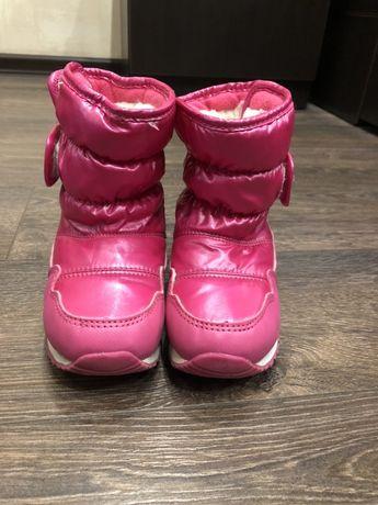 Tom.m. Сапожки,Ботинки зимние 25 размер