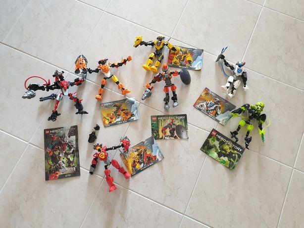7 Bionicles Lego