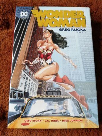 "Komiks ""Wonder Woman t.1"" Greg Rucka"