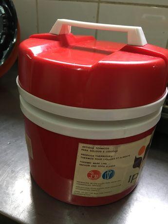 Termo de sólidos e líquidos 1L vermelho IPA FALCÃO