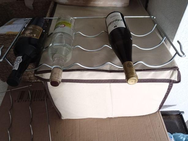 Prateleiras / Garrafeira em aço Inox