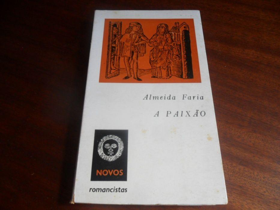 """""""A Paixão"""" de Almeida Faria 2ª Edição de 1966 Carcavelos E Parede - imagem 1"""