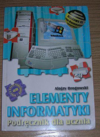 Elementy informatyki alojzy drogowski podręcznik dla ucznia