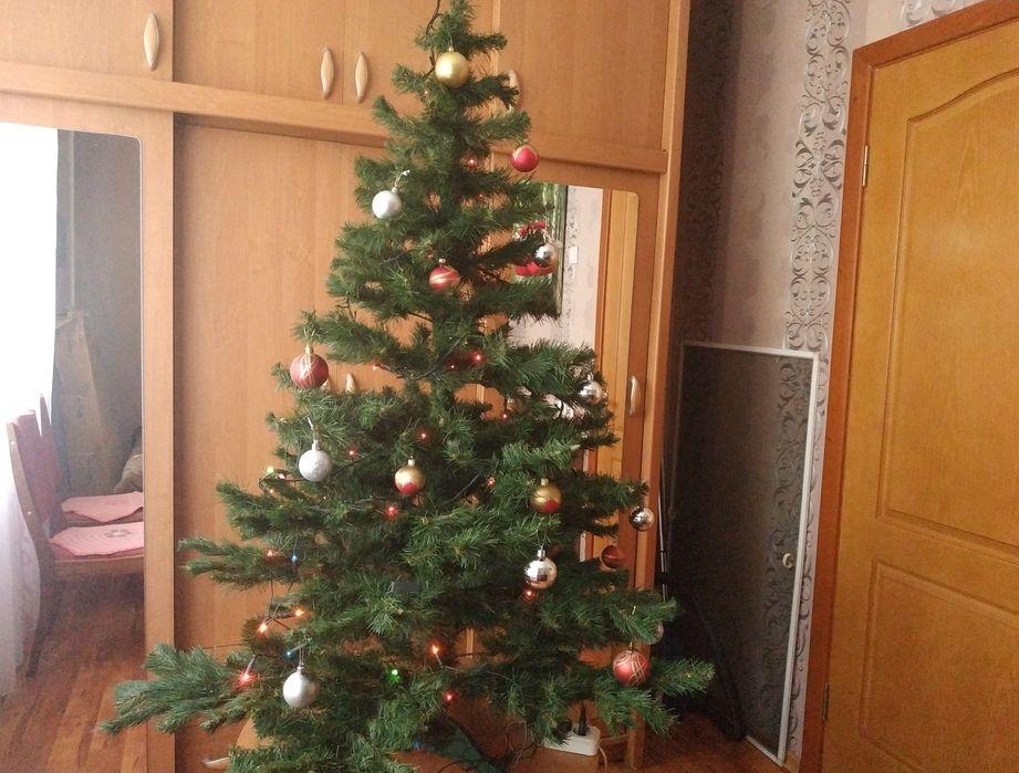 Новогодняя ёлка искусственная С игрушками 1.5 метра Бердянск - изображение 1
