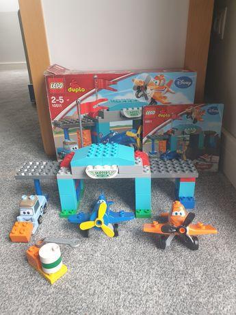 Lego duplo 10511 szkoła latania Skippera stan bdb