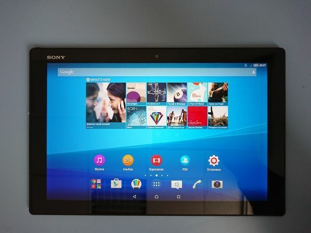 Планшет Sony z4 tablet