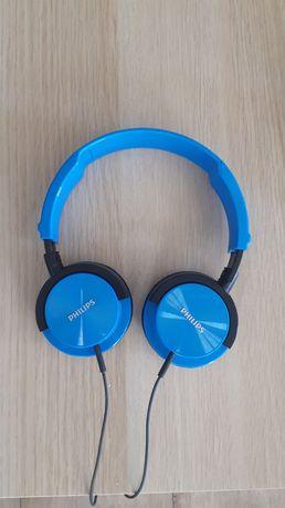 Słuchawki przewodowe Philips - granatowe