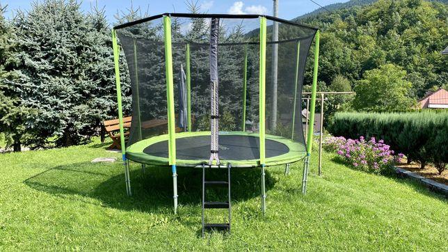 Trampolina ogrodowa - SkyFlyer 304 cm