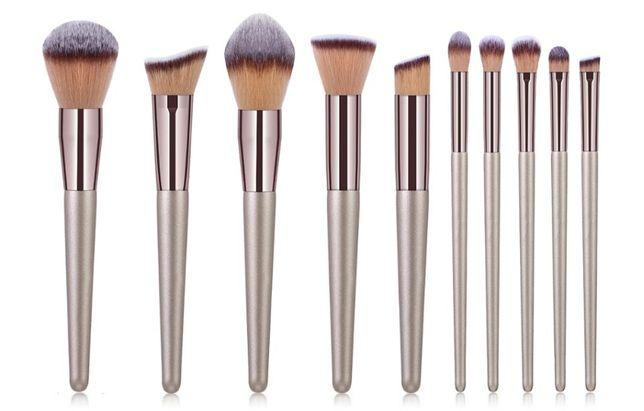 Набор кистей для макияжа 10 шт Rozi Lamile