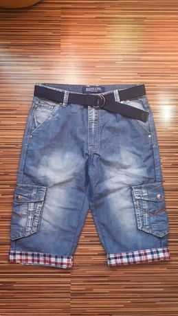 Nowe męskie spodenki szorty jeansowe rozmiar S