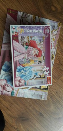 Puzzle Księżniczki Disney 100szt
